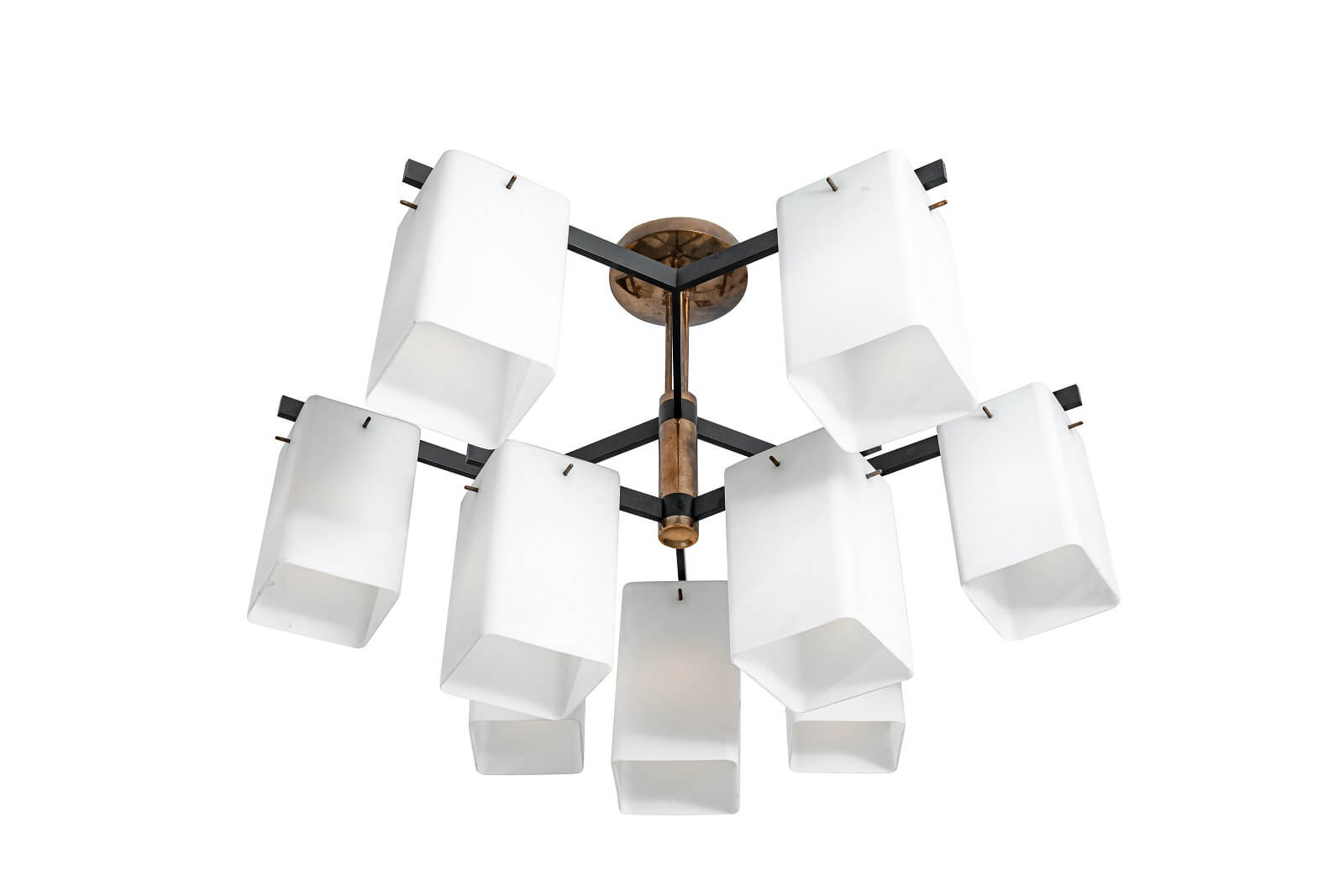 Ceiling lamp by Bruno Gatta for sale