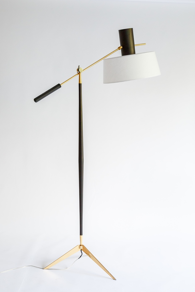 Floor lamp by Maison Arlus for sale