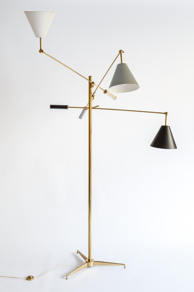 Floor lamp ITSO by Angelo Lelli for sale