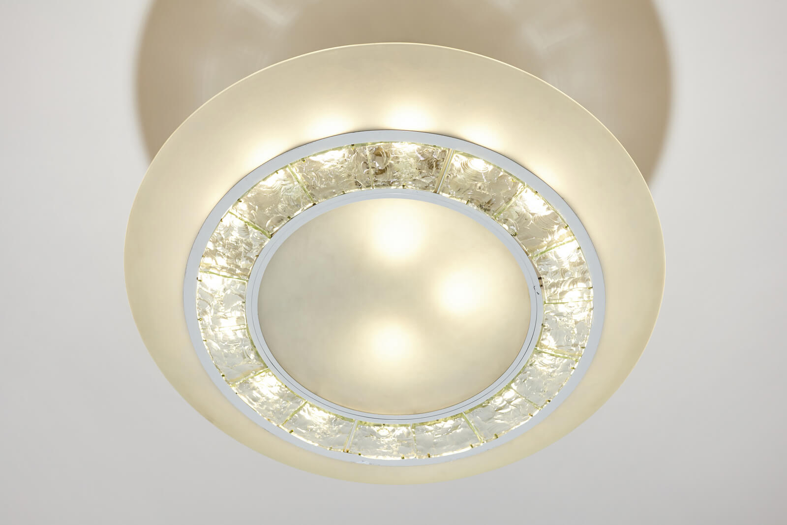 Ceiling lamp by Max Ingrand for sale