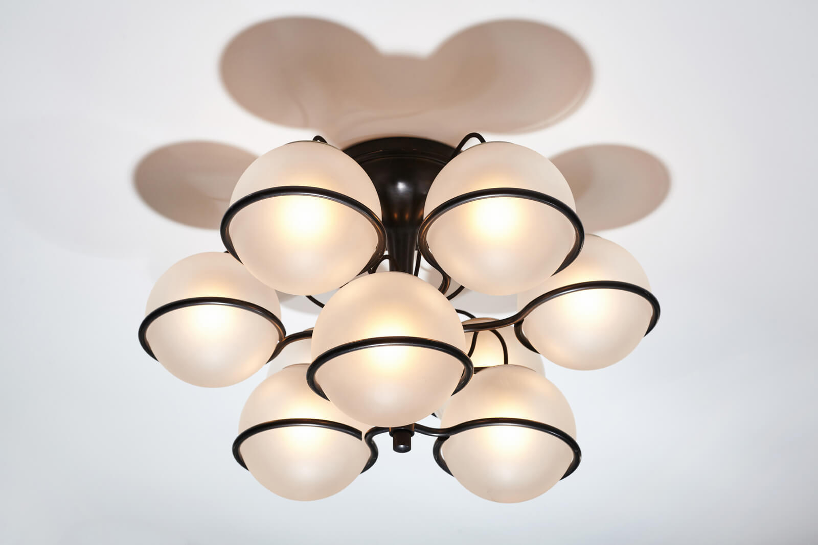Ceiling lamp by Gino Sarfatti for sale